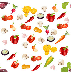 healthy food background vector image