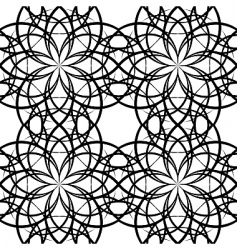 illustration sieamles tile ornate pattern vector image vector image