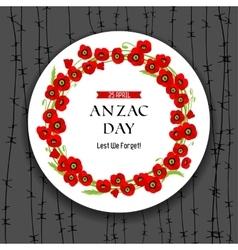 Anzac day dark background vector