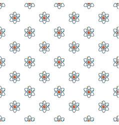 Atom pattern seamless vector