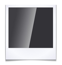 Blank photo frame vector