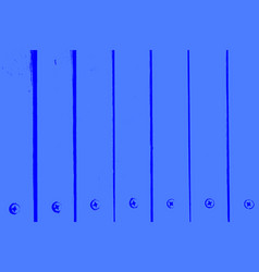 blue painted boards vector image