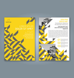 Cover annual report 835 vector