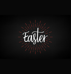 easter day good friday celebration day happy vector image