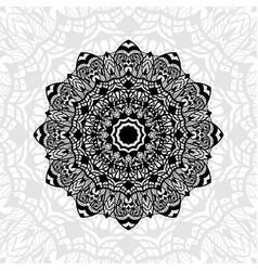mandala abstract pattern vector image