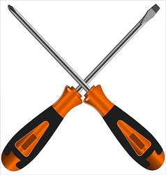 screwdriver vector image