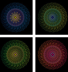 abstract backgrounds variations vector image vector image