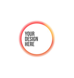 circle colorful banner with fade effect vector image