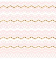 Abstract geometric seamless pattern with chevron vector image