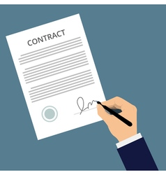 agreement icon vector image