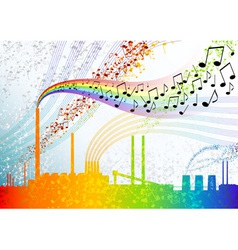 music factory vector image