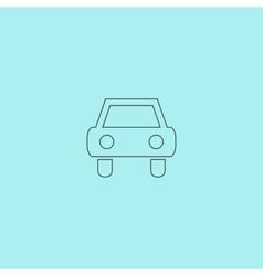 Old Car Icon vector