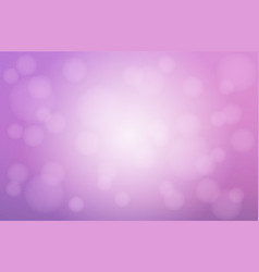 pale purple white blurred background with bokeh vector image