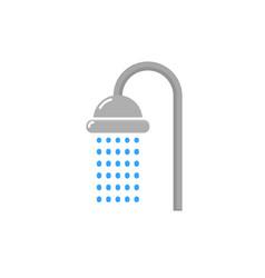 shower head icon water symbol vector image