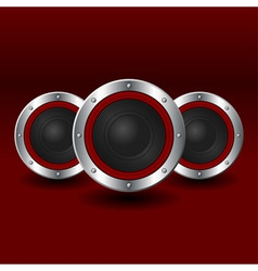 Speakers background vector