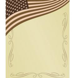 American page vector image
