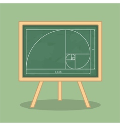 Golden Ratio vector image vector image