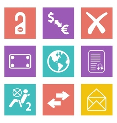 Color icons for Web Design set 32 vector image