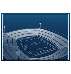 Stadium vector image