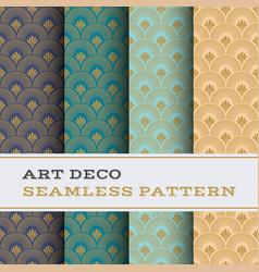 Art deco seamless pattern 40 vector