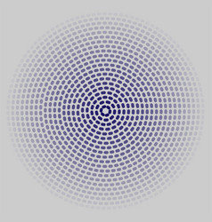 circles on a gray background vector image