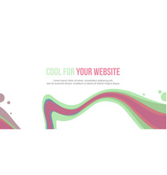 Header website abstract background design style vector