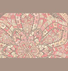 indian oriental colored ornament vector image