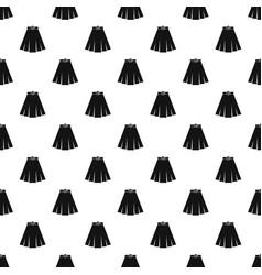 Skirt pattern vector