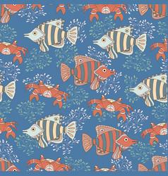 underwater 9 vector image
