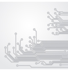 Abstract background with a circuit board texture vector image