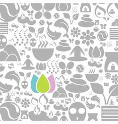 Spa a background vector image vector image