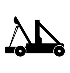 catapult vector image vector image