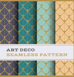 Art deco seamless pattern 42 vector