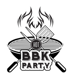 Barbecue grill vector image