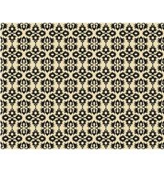 Black ottoman seamless pattern vector