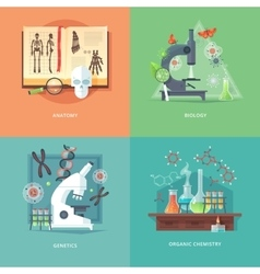 Education and science concept vector