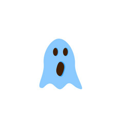gost of the halloween of envil icon vector image