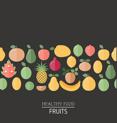 healthy food background healthy food background vector image