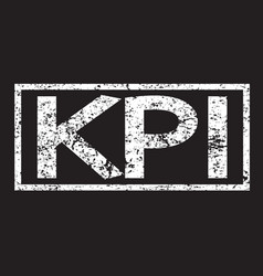 kpi word vector image