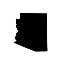 Map us state arizona vector