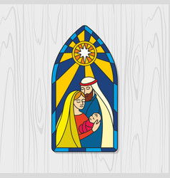 nativity jesus christ vector image