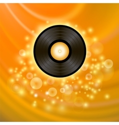 Retro Vinyl Disc vector image