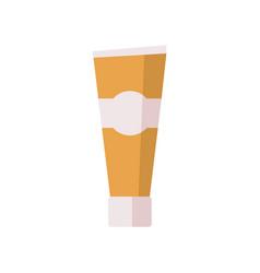Tube flat icon vector
