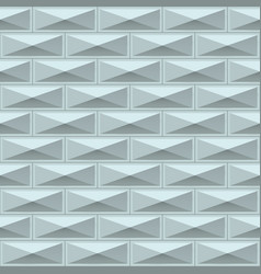 white tiles texture seamless pattern vector image