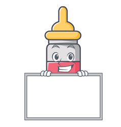 Grinning with board nassal drop character cartoon vector