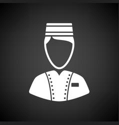hotel boy icon vector image