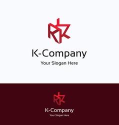 K company logo vector