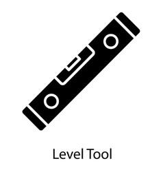 leveler tool vector image