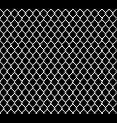 Metallic wired fence seamless texture overlay vector