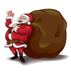 Santa sack vector